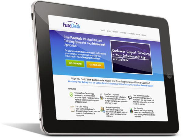 FuseDesk Support Ticketing System for Infusionsoft